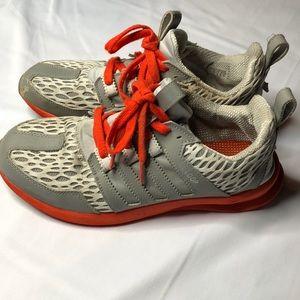 Orange & Gray SL LOOP Adidas size:10